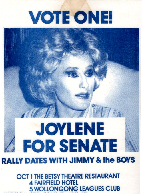 Vote one - Joylene