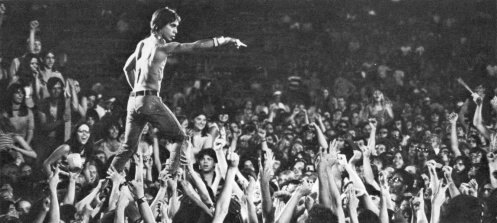 Iggy Pop at the 1970 Cincinnati Rock Festival