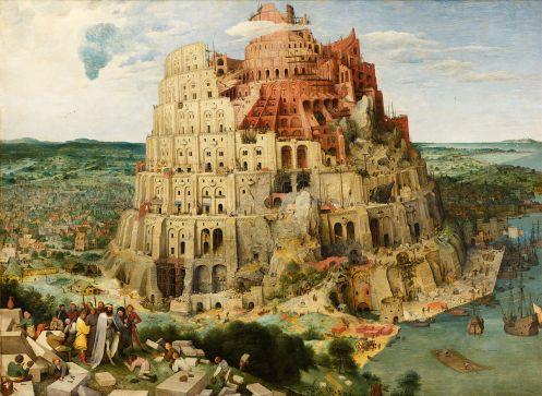"""Bruegel's """"The Tower of Babel"""""""